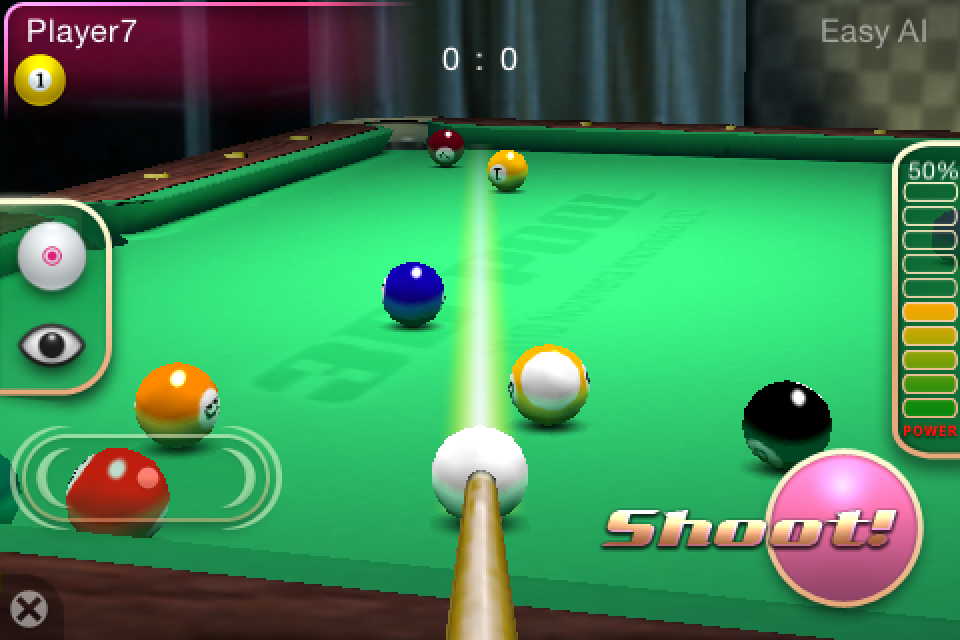 Screenshot 3D Pool Master Pro