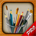 MyBrushes Pro - Sketch, Paint, Playback on Unlimited Size Canvas with Pencil, Pen, Oil Painting Brush (AppStore Link)